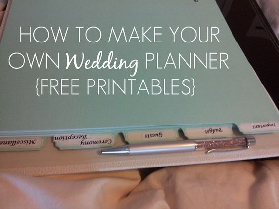Sleepless in diy bride country how to make your own for Build your own planner online