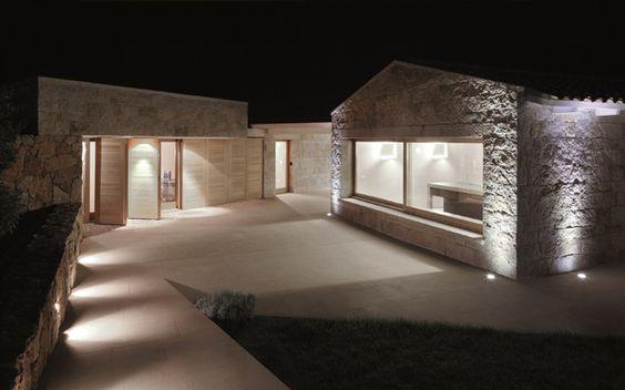 Iluminación exterior #Iluminación #Lighting iluminación jardin