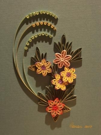 Quilling quilling patterns and paper quilling on pinterest for Big quilling designs
