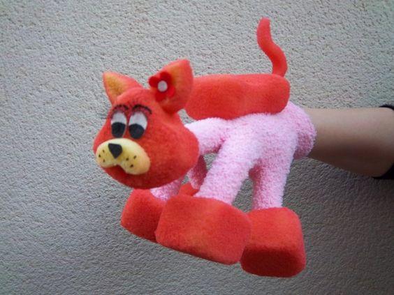 cat glove puppet
