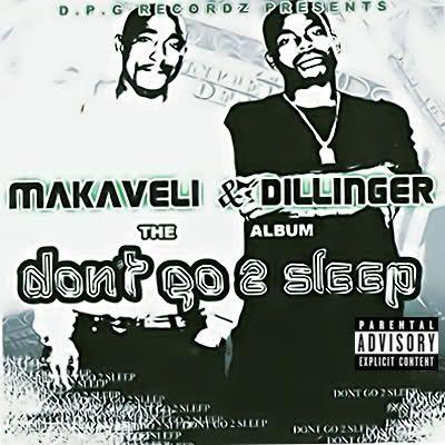 2Pac, Daz Dillinger – Don't Go 2 Sleep (single cover art)