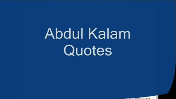 abdul kalam ajad Apj abdul kalam is an indian scientist and politician who served his country as president from 2002 to 2007 born in 1931 in dhanushkodi, india, apj abdul kalam joined india's defense.