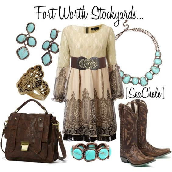 Perfect for a day/night out in the Stockyards!