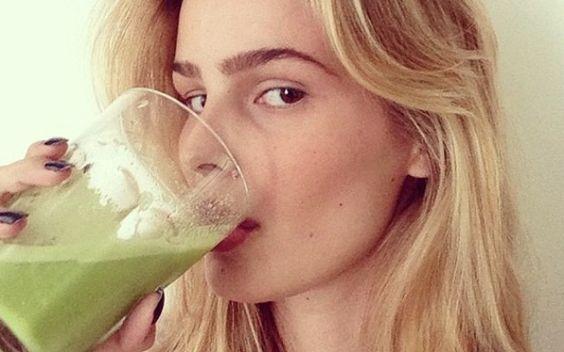 Dieta maluca dos famosos: Yasmin Brunet ensina suco de luz - Gente - iG