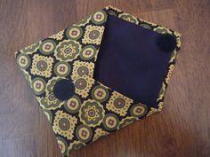 Old Silk Neck Tie - new little pouch!!
