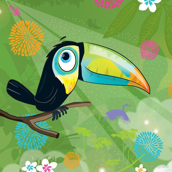 «toucan» de flamingrhino