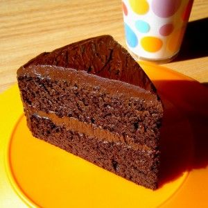 gluten free chocolate cake (with black beans)