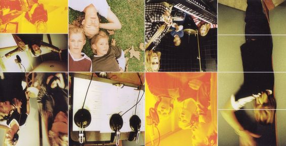 Copertina cd Hanson - Middle Of Nowhere - Booklet (3-4), cover cd ...