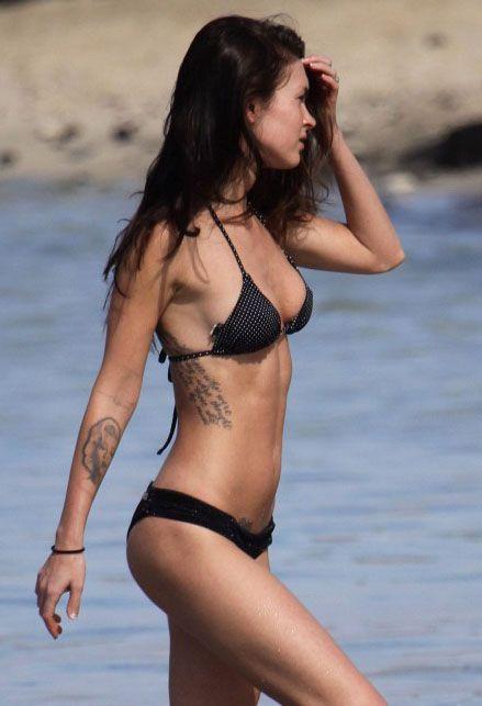 Megan Fox - Bikini & Tattoo's on sexy women.
