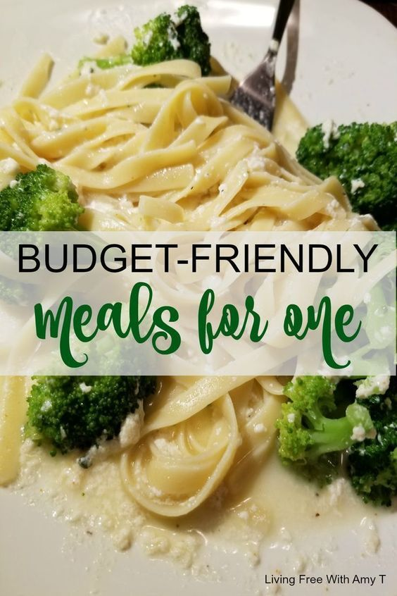 Quick And Easy Budget Friendly Dinner Recipes For One Person Budget Friendly Dinner Budget Friendly Dinner Recipes Healthy Meals For One
