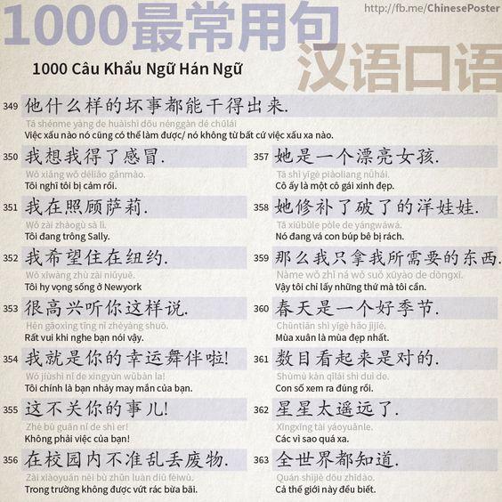 1000 Câu Khẩu Ngữ - Phần 23: