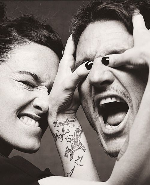 Lena Heady and Pedro Pascal, photographed by Rankin for Hunger magazine, S/S 2014.