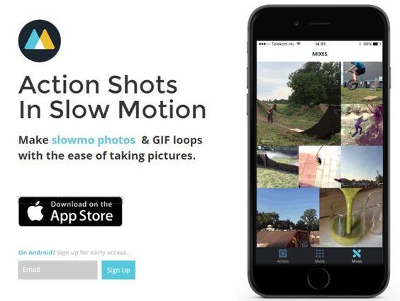 AppsUser: Mo, app para iOS que genera imágenes en cámara lenta