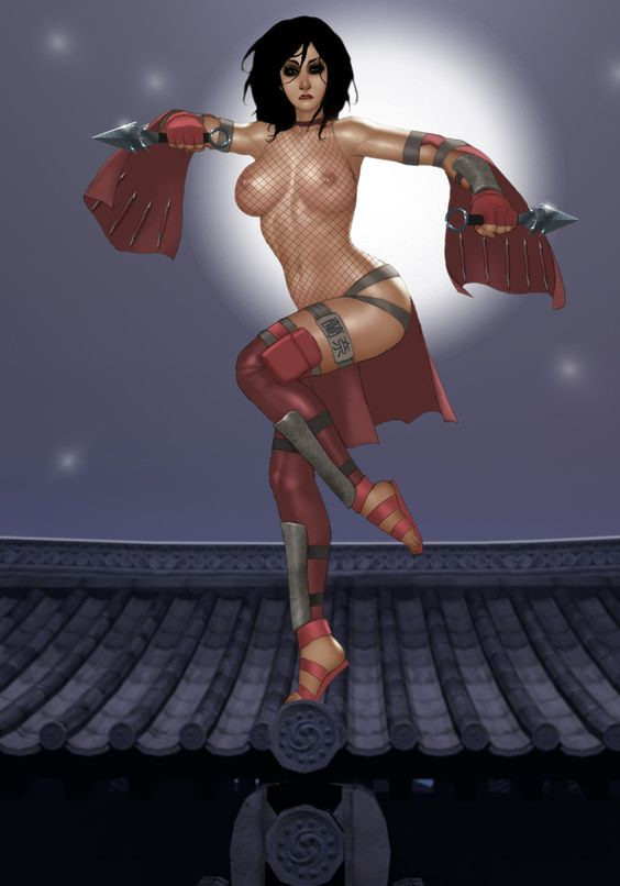 Lana Moonlighting as a Ninja in the Moonlight by ~ArtbroSean on deviantART