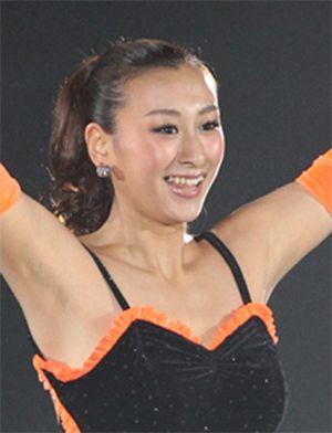 選手時代の浅田舞
