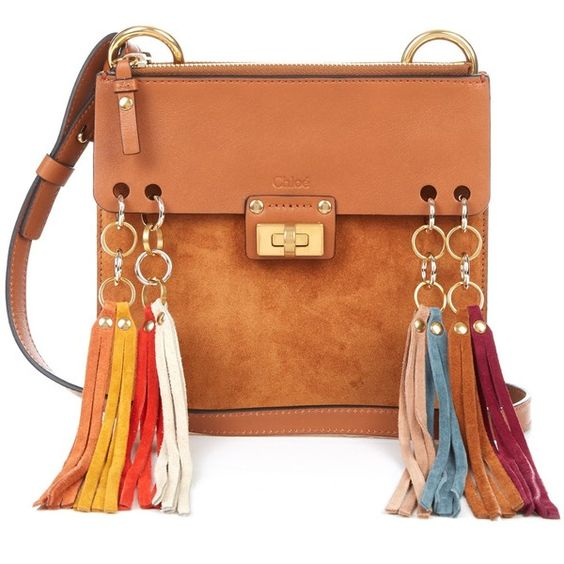 clohe bag - Chlo�� Jane suede and leather fringed cross-body bag (51,550 PHP ...