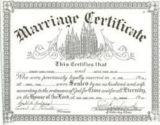 Requirements For Registration And Obtaining A Marriage Certificate