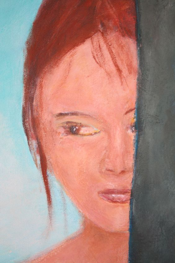 Embarrassment made by lemvanderlinden  acryl on canvas