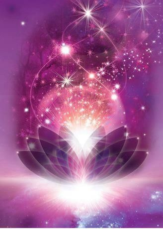 I Love the violet cosmic colors in this photo. It reminds me of the womb and the feminine essence.