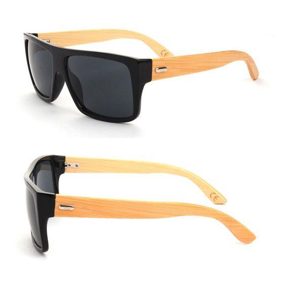 2015 Bamboo Sunglasses Men Wooden Sunglasses Women, Factory Price, Worldwide Free Shipping!