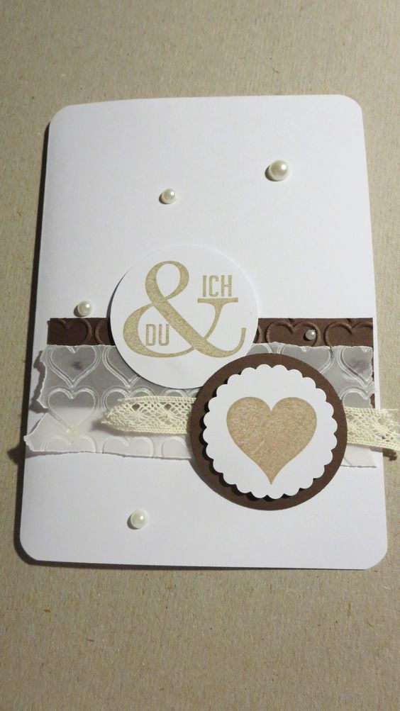 Hochzeitskarte nach dieser Idee https://kreativass.wordpress.com/2014/05/12/du-und-ich-hochzeitskarte/
