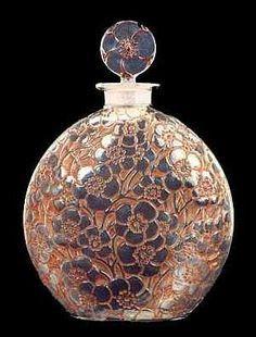 Lalique perfume bottle: