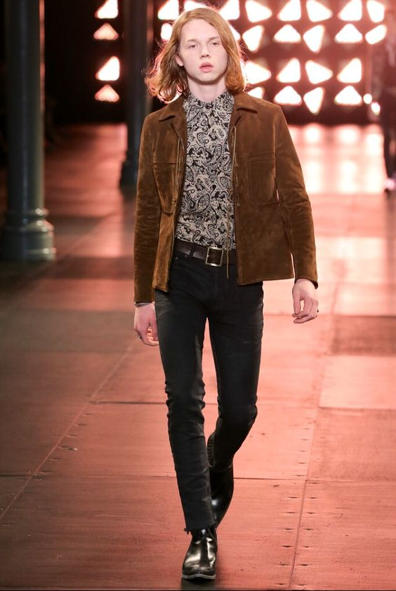 Saint-Laurent menswear spring/summer 2015