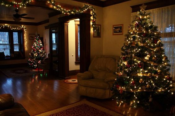 Christmas at my house. Christmas decorating ideas