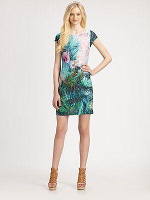 ABS Printed Dress