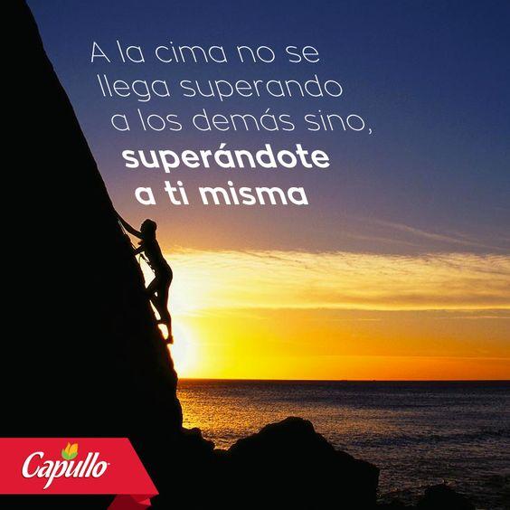 El reto es con nosotros mismos, descubre la magia que llevas dentro y te hará superar tus límites. #Capullo