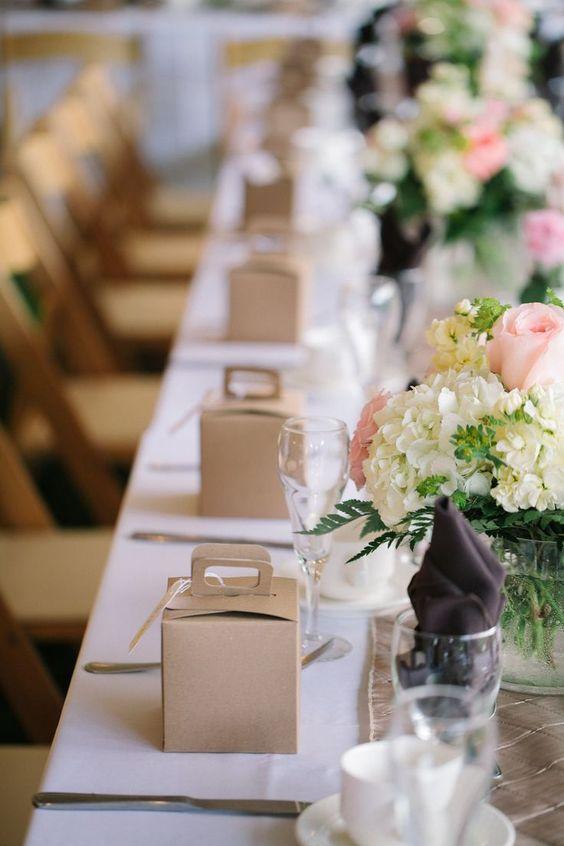 Presentacion de recuerdos para bodas: También ten en cuenta la presentación de los obsequios