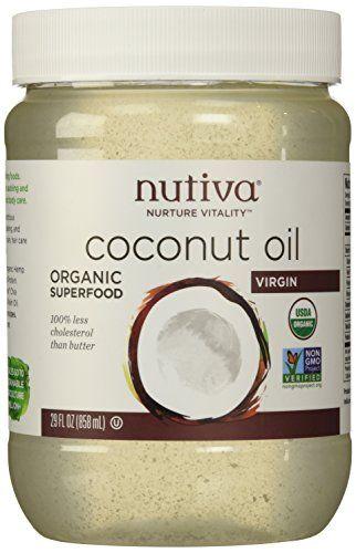 Nutiva Organic Virgin Coconut Oil - 29 oz Nutiva