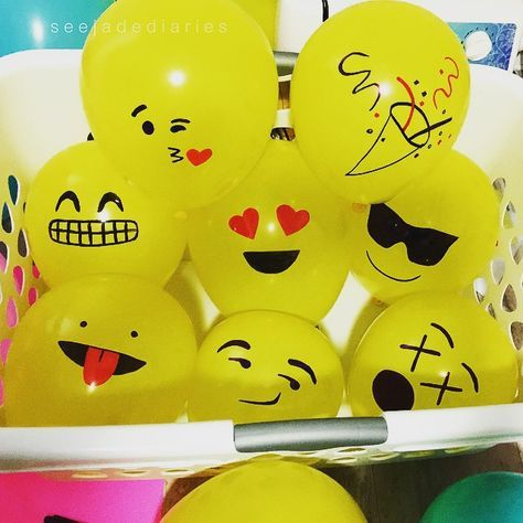 DIY: Make Your Own Emoji Balloons | http://BalloonParty.me – Blog: