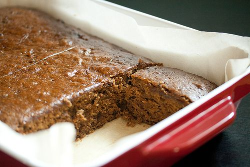 This dessert combines two classic British desserts – gingerbread and sticky toffee pudding – into one dense, sticky, moist and gooey package ~crumblog.com