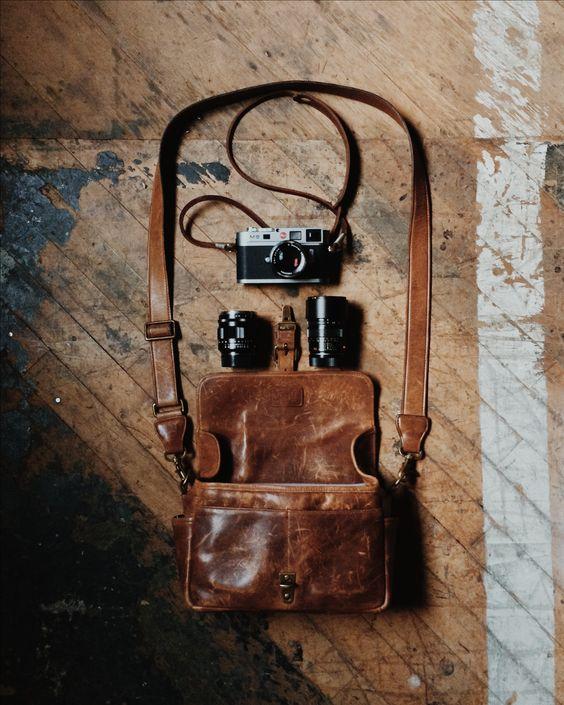 Leica M9 Voigtlander 35mm f/1.2 II Zeiss Sonnar 50mm f/1.5 Leica Summicron 90mm f2 Ona Leather Bowery Bag