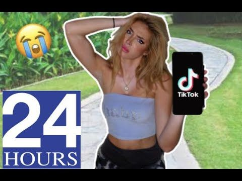 Posting A Tiktok Every Hour For 24 Hours Challenge Challenges Saxon Sharbino Things To Think About
