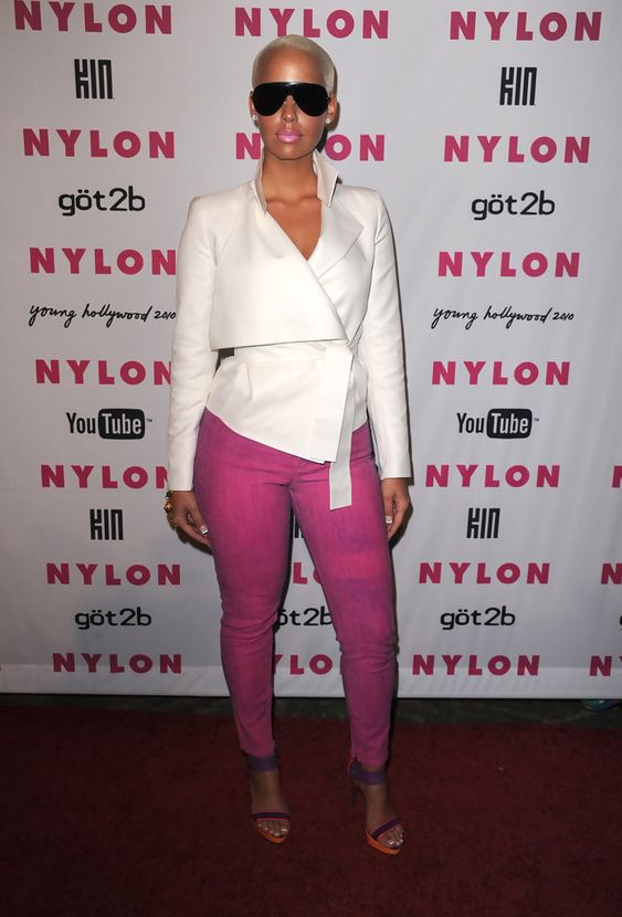 Amber Rose ...... In 2011, Amber Rose was a guest judge on Season 3 of RuPaul's Drag Race.