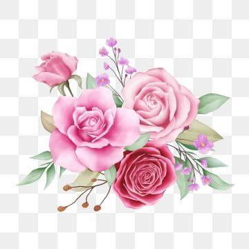 Hermoso Arreglo De Flores Acuarela De Flores Rosas Clipart De Rosas Boda Invitacion Png Y Vector Para Descargar Gratis Pngtree In 2021 Watercolor Flowers Rose Flower Wallpaper Flower Illustration
