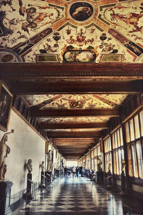 Galeria Uffizi (Florencia - Italia)