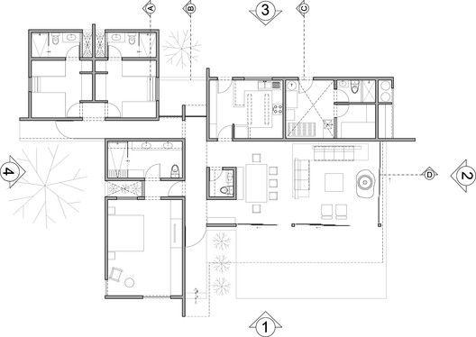 Casa oZs0,planta