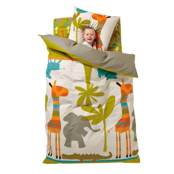 housse de couette enfant savane party vertbaudet linge de lit enfants pinterest f tes. Black Bedroom Furniture Sets. Home Design Ideas