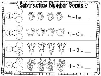 math worksheet : subtraction common core number bond practice pages  number bonds  : Common Core Subtraction Worksheets