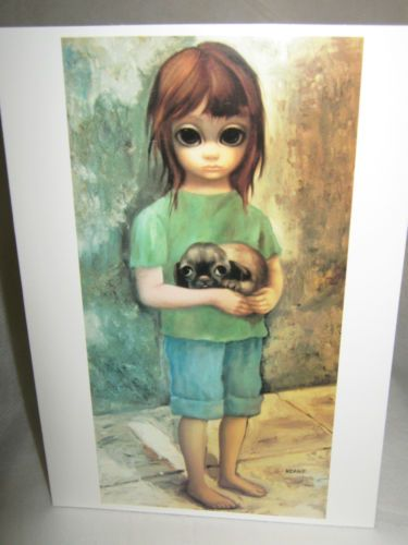 Vintage 1964 walter keane 1915 2000 new puppy 12 greeting cards vintage 1964 walter keane 1915 2000 new puppy 12 greeting cards m4hsunfo Image collections