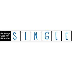 Beziehungswaise mit 6 Buchstaben = SINGLE Mehr Infos auf http://www.toller-laden.de/single-kreuzwort.html