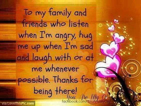 Quote For My Family And Friends