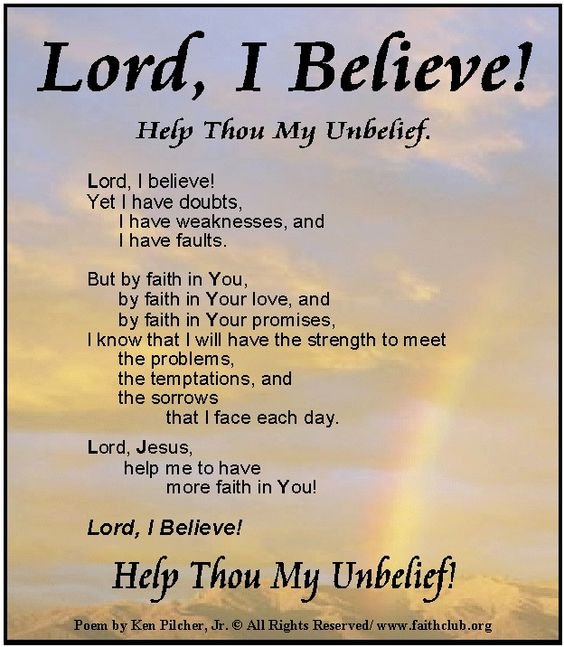 Unbelieving Belief