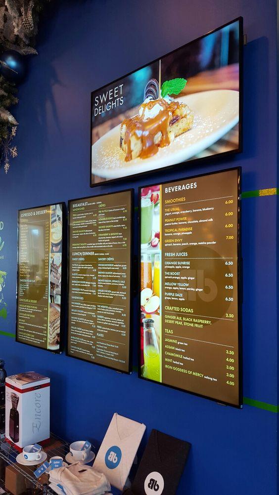 Barbazzar Digital Menu Boards