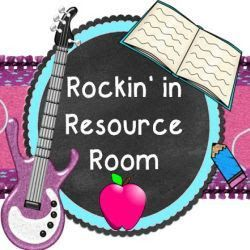 Resource Room Teacher Blog!! :) New and amazing!