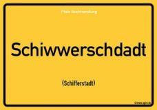 Schiwwerschdadt (Schifferstadt) - Pfälzisch Postkarte