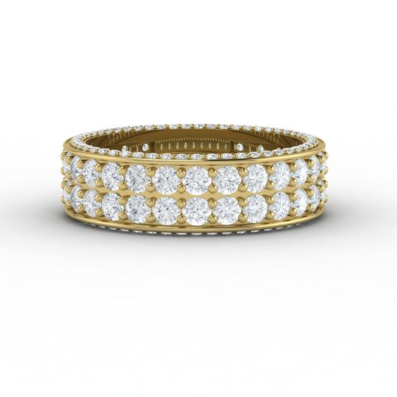This Tres Jolie Eternity Diamond Ring Is A Truly Spectacular Symbol